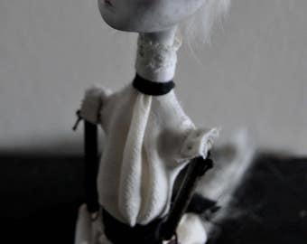 A Wolf in Sheep's Clothing - Art Doll