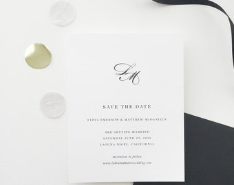 Lydia Wedding Save the Date - Sample