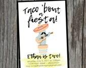 Fiesta/Taco/Cinco de Mayo Invitation