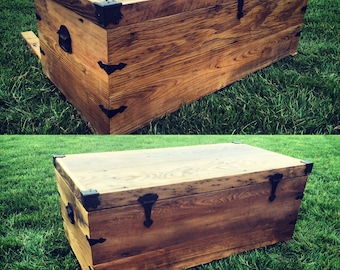Reclaimed Chestnut Chest - Ready to Ship