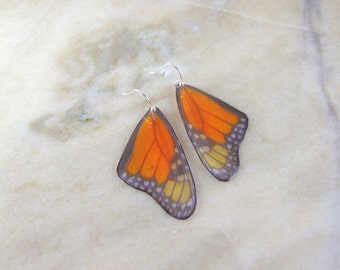 Butterfly Resin Monarch Earrings