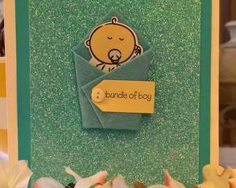 Bundle of Boy - Greeting Card