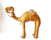 Vintage Leather Camel