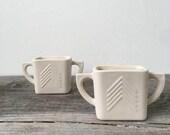 Porcelain, Ceramic Scented Soy Votive Candles