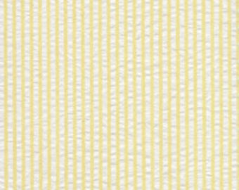 Seersucker Fabric / Yellow and White / by Spechler-Vogel