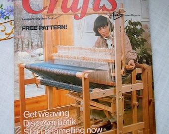 Popular Crafts - May 1980 - Volume 1 Nº 2 - Free Pattern uncut - vintage