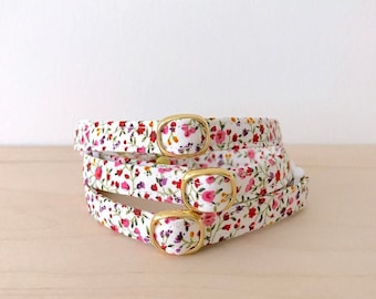 Floral Breakaway Cat Collar