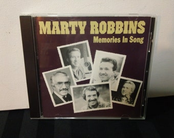 Marty Robbins - Memories In Song - A 19163 - audio CD, compilation album (Sony Music Special Products,1994) Country music compact disc