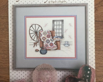 Yesterday's Dream by Paula Vaughan, Counted Cross Stitch Pattern Chart