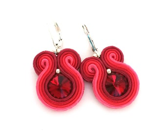 birthday gift for mom - soutache earrings - birthday gift for daughter - birthday gift - bridesmaids gift fall wedding - wholesale jewelry