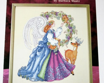 ANGEL of HARVEST cross stitch patterns Barbara BAATZ New 1997