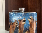 Funny Flask : Space Camels