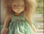 "Waldorf inspired doll called Ella , 14"" tall"