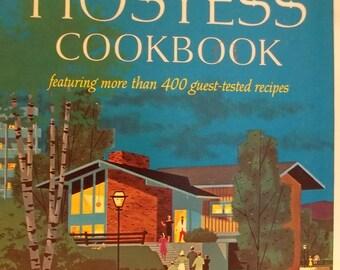 Vintage Betty Crocker's Hostess Cookbook 1967 2nd Printing