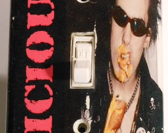 "Sid Vicious ""Vicious"" Light Switch Plate"