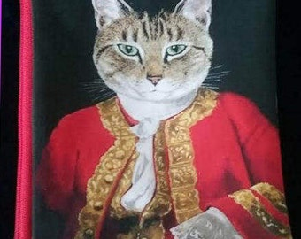 Royal Cats Zipper Pouch