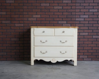 Chest of Drawers / French Provincial Dresser / 3 Drawer Chest / Dresser / Country French Chest by Ethan Allen
