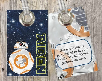 Star Wars - Disney - Custom Tags for Backpacks, Luggage, Diaper Bags & More!