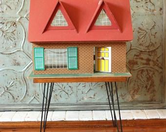 Vintage Mid Century Dolls House