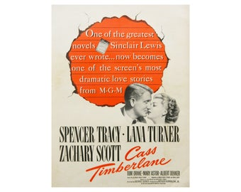 Movie Wall Art - Cass Timberlane with Spencer Tracy and Lana Turner