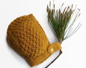 Baby bonnet kids' beanies handknit winter hat woollen autumn winter accessories