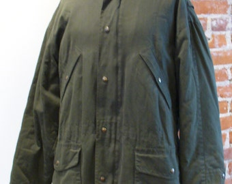 Vintage Yves Saint Laurent Field Jacket Made in Italy Size 52