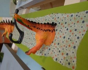 Dino coat hooks
