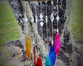 Rainbow Glass Leaf Sun Catcher Wind Chime