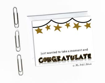 Funny Graduation Card, Congrats, Sarcastic Grad Gift, Congratulations, Boyfriend Girlfriend, Highschool Grad