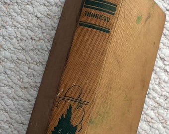 Walden or Life in the Woods by Henry David Thoreau, Copyright 1906, Printed 1929 Antique book