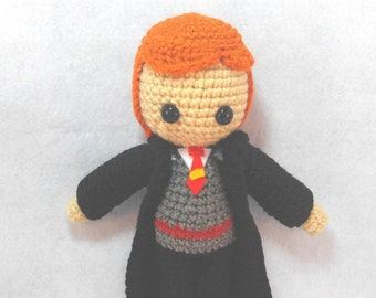 Amigurumi Ron Crochet Doll
