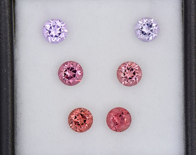Lovely Multi Color Spinel Gemstone Set from Burma and Sri Lanka 2.60 tcw.