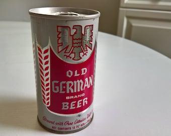 Vintage Old German Beer Can --- Retro Cool Urban Royalty Tavern Pub Bar Home Decor Deutschland Brewery Mid-Century Kitsch Oktoberfest Curio