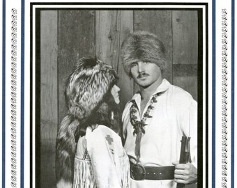 Classic Fur Hat Pattern - Frontier, Traditional & Contemporary Style - Eagle's View Sewing Pattern