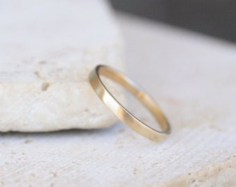 gold wedding band, thin gold ring , women wedding ring, women wedding band, wedding & engagement, men wedding band, wedding jewelry, gift