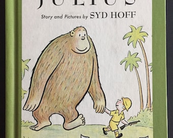 1959- Julius by Syd Hoff- Children's Book- An I Can Read Book