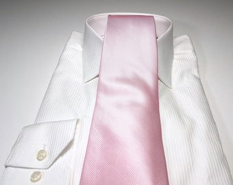 Tickled Pink Tonal Solid Tie