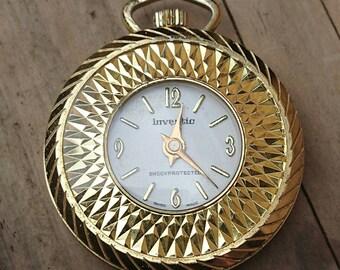 Vintage inventic watch pendant