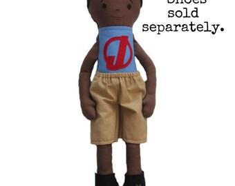 Custom Doll Boy Cloth Doll Rag Doll Made To Order Boy Doll Personalized  Doll Portrait Doll