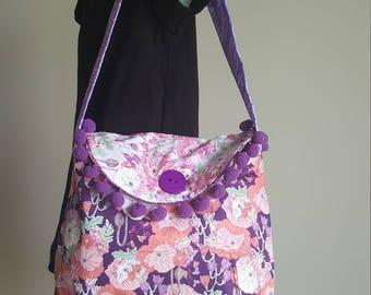 Floral Bag, reversible