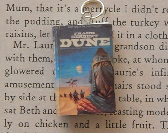 Dune Book Necklace or Keychain