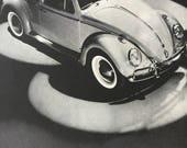 1961 advertisement for Volkswagen, always a classic.