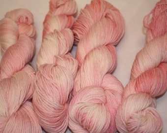 Superwash Hand Dyed Sock Yarn:  Some Pig