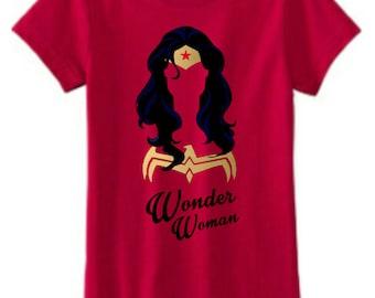 Similar Girls Wonder Woman Shirt
