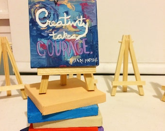 Creativity Takes Courage Painting