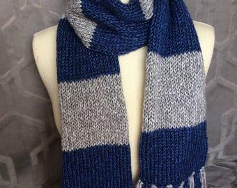 Ravenclaw scarf, Harry Potter Scarf, Vintage hogwarts scarf, Dallas Cowboys scarf