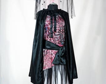Pink and Black Plus Size Witch Costume