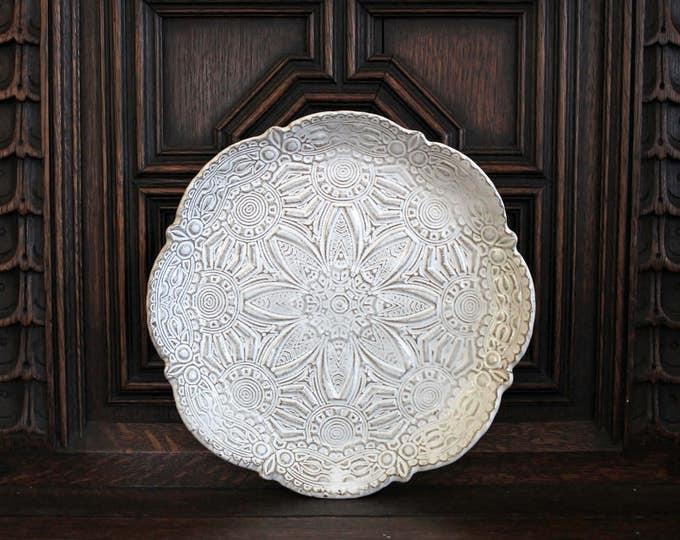 Mandala Salad Plate