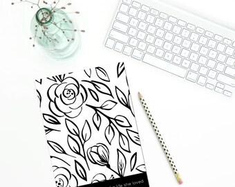 Notebook - She Designed A Life She Loved