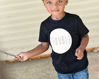 TROUBLE Graphic Tee, Kids Tee, Toddler Graphic Tee, American Apparel, Toddler Tee, Kids Clothing, Kids Apparel, Baby Tee, Trouble Maker